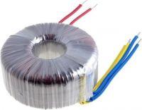 Ringkernetrafo 500VA 2x40V / 2x6,25A, m.ledn