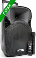 "Transportabelt lydanlæg, P12BT Portable Sound System 12"" BT/MP3/USB/SD/VHF/IRC ""B STOCK"""