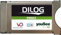 Dilog CA-modul til YouSee i DK DVB-C, CI+, HD