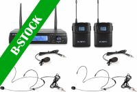 "WM62B Wireless Microphone UHF 16Ch with 2 Bodypacks ""B-STOCK"""