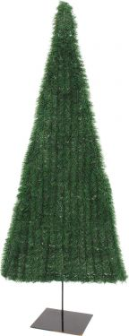 Europalms Fir tree, flat, dark green, 150cm
