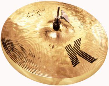 "Zildjian 14"" K Custom Session Hihat, Zildjians K Custom-bækkener fr"