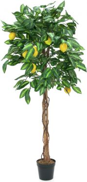 Europalms Lemon tree, artificial plant, 150cm