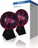 Belysning, Valueline Plasma Light Ball Mood Lamp, VLPLASMABALL10