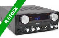 "Karaoke Amplifier with Display Blk ""B-STOCK"""