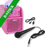 """SBS50P Bluetooth Party Speaker LED Ball Pink """"B-STOCK"""""""