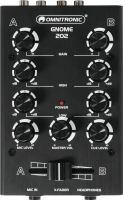Professionel Lyd, Omnitronic GNOME-202 Mini Mixer black