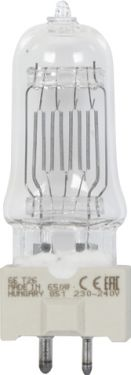 GE CP89 FRM 240V/650W GY9.5 150h 3200K