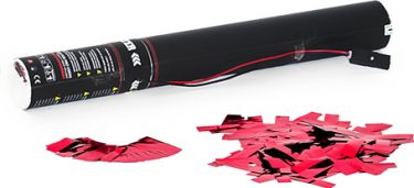 TCM FX Electric Confetti Cannon 50cm, pink metallic