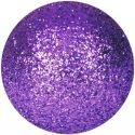 Christmas Decorations, Europalms Deco Ball 3,5cm, violet, glitter 48x