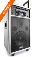 "Transportabelt lydanlæg, ST100 MK2 Portable Sound System 8"" BT/CD/MP3/UHF ""C-STOCK"""