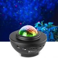 SkyNight Projector with Red and Green Stars