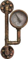 Halloween, Europalms Halloween Watermeter, rusty