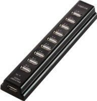 "<span class=""c2"">LogiLink -</span> USB 2.0 HUB 10-port, incl. 3,5A strømforsyning, Sort"