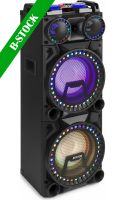 "VS210 Active Speaker 2x 10"" Bluetooth, LED 1600W ""B-STOCK"""