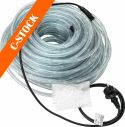 "Eurolite RUBBERLIGHT RL1-230V clear 44m ""C-STOCK"""