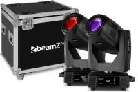 Tiger 17R Beam/Spot 350W Moving Head 2pcs in Flightcase