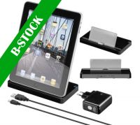 "USB Dockingstation til iPad, iPad2 - Sort ""B-STOCK"""