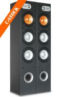 "SHFT650B Tower 3x 6,5"" - Black (Set) ""C-STOCK"""