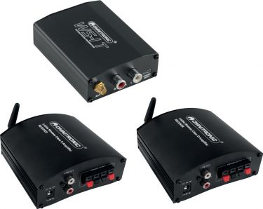 Omnitronic WS-1 2.4GHz Transmitter + 2x Receiver, active