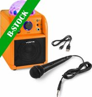 "SBS50L BT Karaoke Speaker LED Ball Orange ""B-STOCK"""