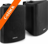 "Speaker Set 2-Way 6.5"" 100W Black ""C-STOCK"""