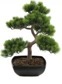 Europalms Pine bonsai, artificial plant, 50cm