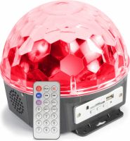 Magic Jelly DJ Ball 6x 1W LEDs SD/USB/MP3