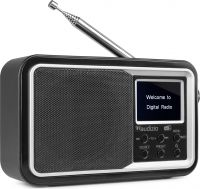 Parma Portable DAB+ Radio Black