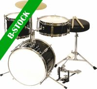 "DW Audio Børne trommesæt, 3 trommer / sort ""B-STOCK"""