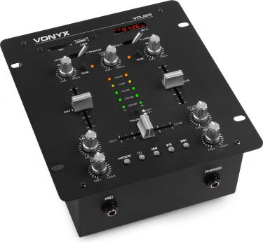 VDJ25 2CH Mixer with Amplifier