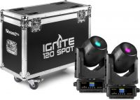 IGNITE120 LED Spot 120W Moving Head Set 2pcs in Flightcase