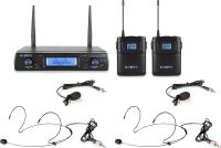 WM62B Wireless Microphone UHF 16Ch with 2 Bodypacks