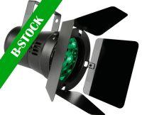 "PAR36 LED pinspot - 12 x 1W LEDs, SORT m. skyggeklapper ""B-STOCK"""