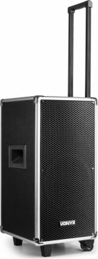"""ST095 Portable Sound System 8"""" CD/UHF/MP3 with BT"""