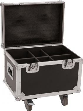 Roadinger Flightcase 4x LED TMH-13/17/S30/W36