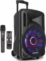 """FT12LED Portable Sound System 12"""" 700W"""