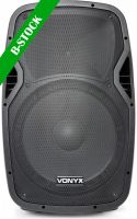 "AP1500PA Portable Speaker 15"" 2VHF MP3 BT ""B-STOCK"""
