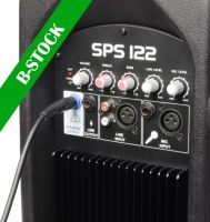 """SPS122 Active Speaker Set 12"""" with Stands and Cable """"B-STOCK"""""""