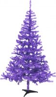 Julepynt, Europalms Fir tree, purple, 180cm