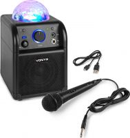SBS50B BT Karaoke Speaker LED Ball Black