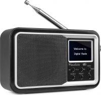Anzio Portable DAB+ Radio with Battery Black