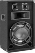 "BS12 Black PA Speaker 12"" LED 600W"