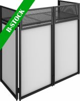 """DB4 Pro Foldable DJ Booth System with 4 screens """"B-STOCK"""""""