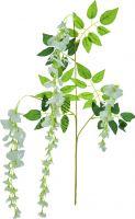 Udsmykning & Dekorationer, Europalms Wisteria branch, artificial, white