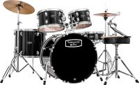 Mapex Tornado Fusion 5-pc drumset - Black, 5-pce Starter Drum Set i
