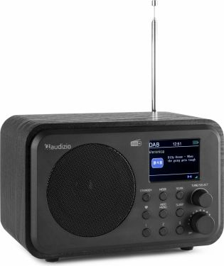 DAB+ Radio m. BT streaming - Sort