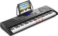 KB9 Electronic Keyboard with 61-lighted keys and LCD display