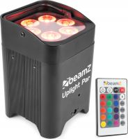 BBP96 Battery Uplight Par 6x 12W