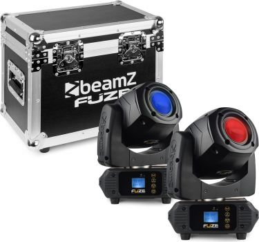 Fuze75S Spot 75W LED Moving Head Set 2 Pieces in Flightcase